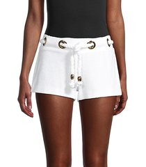 harbour island knotted shorts