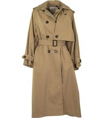 max mara btrench cotton gabardine trench coat