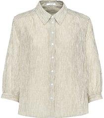 opus blouse met korte mouwen fisana