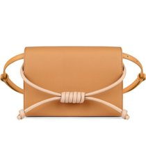 esin akan midi chelsea leather clutch bag