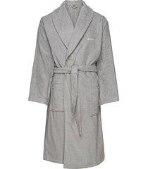 terry bathrobe ochtendjas badjas grijs gant