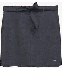 tommy hilfiger women's essential belted skirt masters navy - xxl