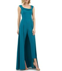 women's kay unger jumpsuit gown