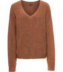 maglione oversize (marrone) - bodyflirt
