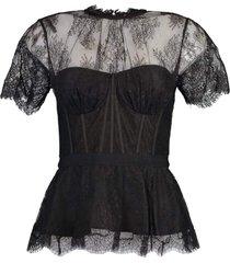 kehlani lace bustier top
