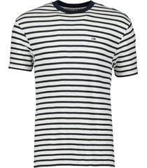 tommy jeans t-shirt - slim fit - blauw