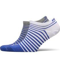 puma unisex sneaker 2p ankelstrumpor korta strumpor blå puma
