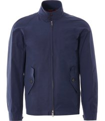 baracuta g4 harrington jacket | navy | 7fbc02nv