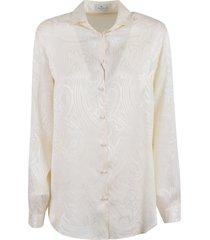 etro classic mid-length shirt
