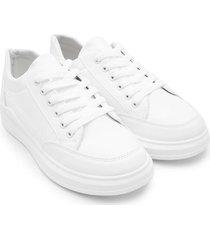 tenis blancos mujer color blanco, talla 36