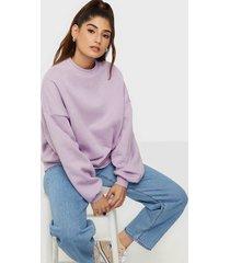 nly trend perfect chunky sweater sweatshirts ljus lila