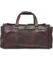 mancini buffalo collection duffle bag