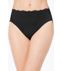 bali women's passion for comfort hi cut lace-waist underwear dfpc62