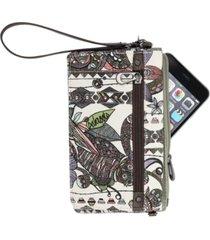 sakroots corin flap wallet