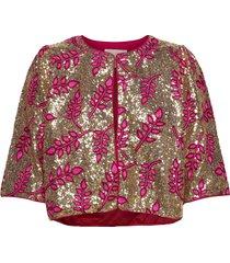 trine jacket blazers bouclé blazers roze lollys laundry