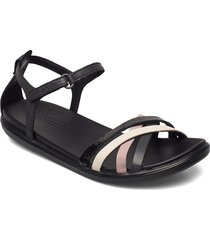 simpil sandal shoes summer shoes flat sandals svart ecco