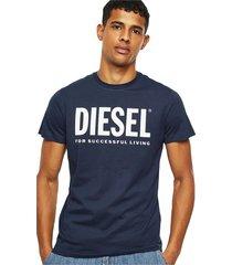 diesel 00sxed 0aaxj t-diego-logo t shirt and tank men dark navy