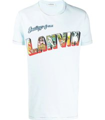 greetings logo t-shirt