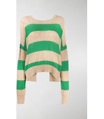 marni back-tied knitted jumper
