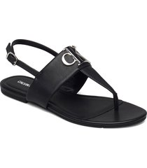 flat sandal hw lth shoes summer shoes flat sandals svart calvin klein