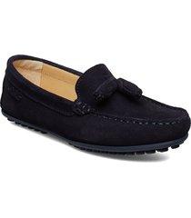 tassel driving loafer sde wmn loafers låga skor blå marstrand