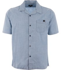 edwin resort shirt - blue i026734