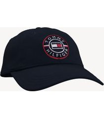 tommy hilfiger men's logo cap sky captain -