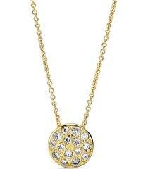 colar pandora shine™ folhas brilhantes - 50 cm