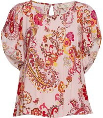 knock-off top blouses short-sleeved roze odd molly