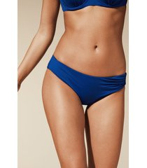 calzedonia indonesia high-waisted bikini bottoms woman blue size 5