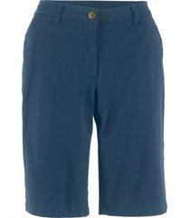 bermuda con cinta elastica (blu) - bpc bonprix collection