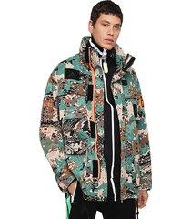 chaqueta j toucha camou jacket multicolor diesel