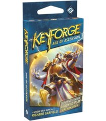 asmodee editions key forge- age of ascension archon deck display collectable deck game
