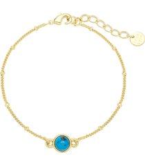brook and york nola amethyst bracelet in gold/blue at nordstrom