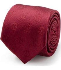 marvel deadpool men's tie