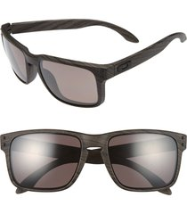 oakley 'holbrook' 55mm polarized sunglasses in brown at nordstrom