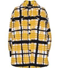 sabi jacket outerwear faux fur geel stand studio