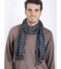 bufanda elastizada azul spiga 31