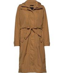 lova wns coat 2 trenchcoat lange jas bruin didriksons
