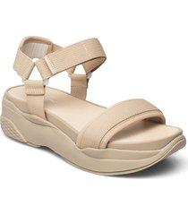 lori shoes summer shoes flat sandals beige vagabond