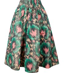 marni printed detail skirt