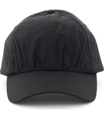 a-cold-wall crinkle nylon baseball cap
