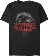 fifth sun men's stranger things demogorgan poster short sleeve t-shirt