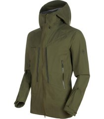 chaqueta masao hs hooded verde mammut