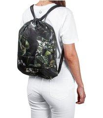 tula plegable estampado jungla citybags multicolor