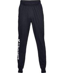 pantalon negro under armour jogger 1329298-001