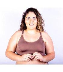 sutiã plus size jam lingerie top gatria reforçado feminino