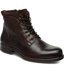 sutton 4b snörade stövlar brun marc o'polo footwear