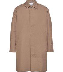 torrex coat 13105 dunne lange jas bruin samsøe samsøe