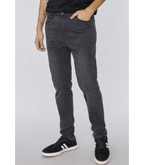 jeans skinny i gris oscuro- hombre corona